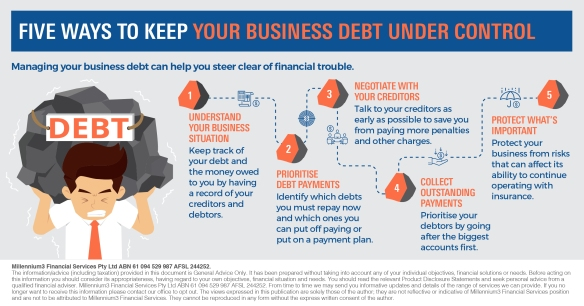 Infographic_Five ways to keep your business debt under control2