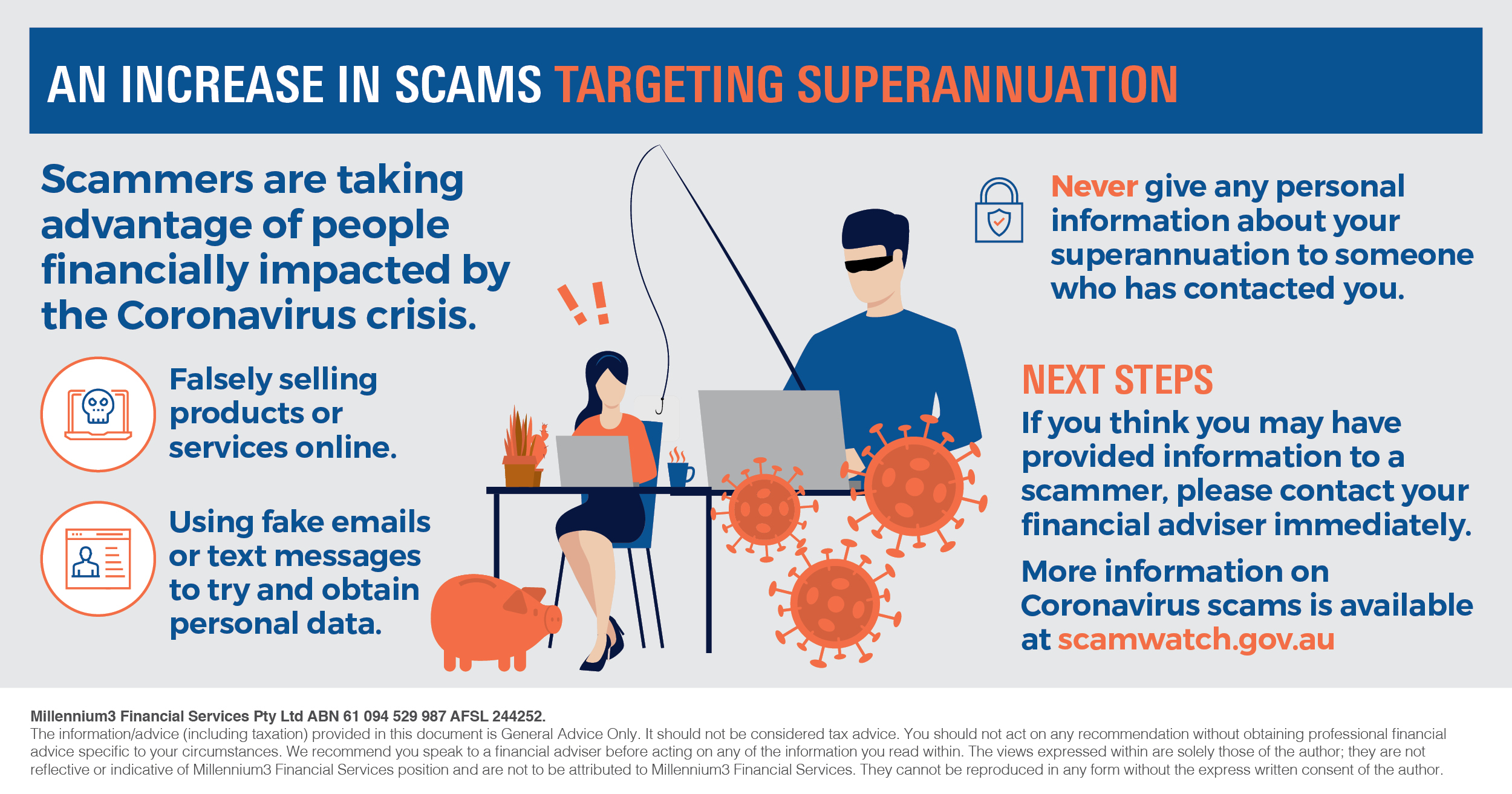 Infographic_An increase in scams targeting superannuation_M3